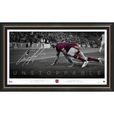 Greg Inglis Signed 'Unstoppable'