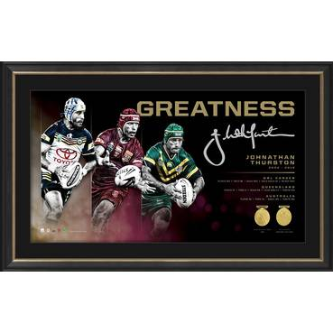 Johnathan Thurston Signed 'Greatness'