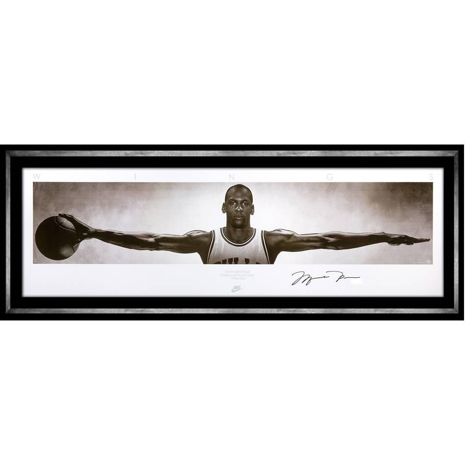 mainMichael Jordan Signed Nike Wings0