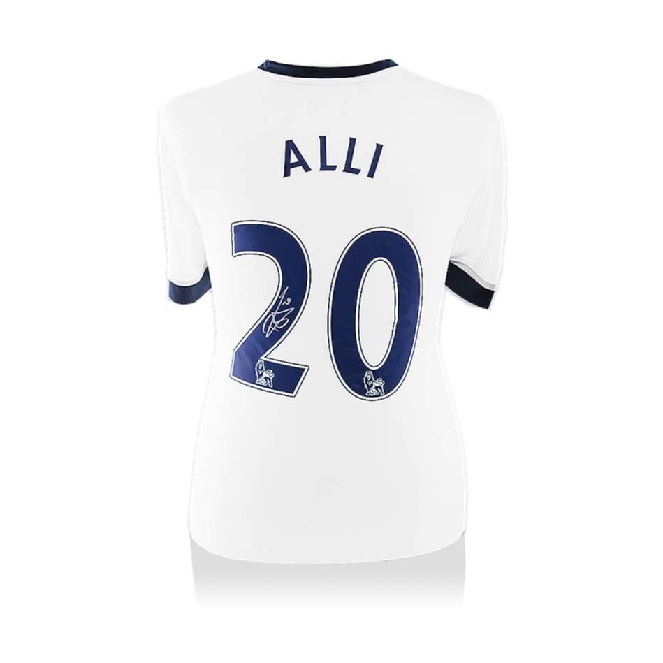 mainDele Alli Signed Spurs Home Shirt0