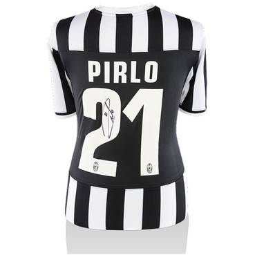 Andrea Pirlo Signed Juventus Home Shirt