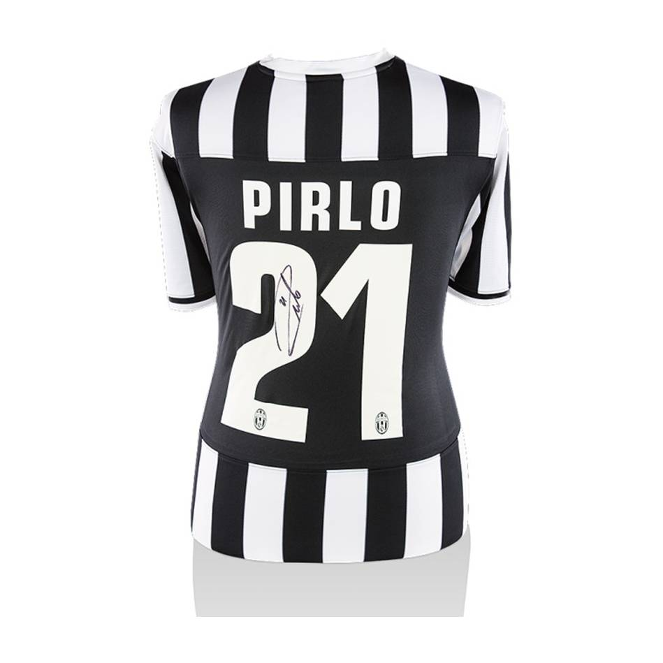 mainAndrea Pirlo Signed Juventus Home Shirt0