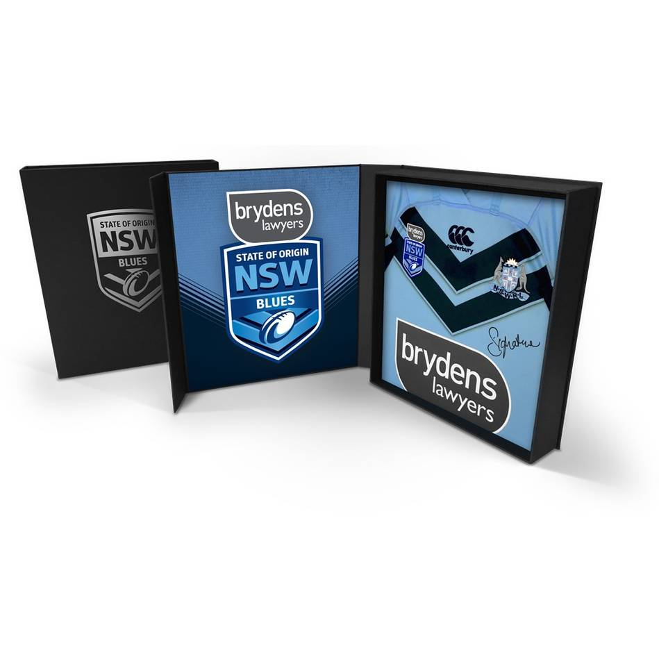 mainDale Finucane – NSW Blues 2019 Holden State of Origin Game III Signed Match-Worn Jersey0