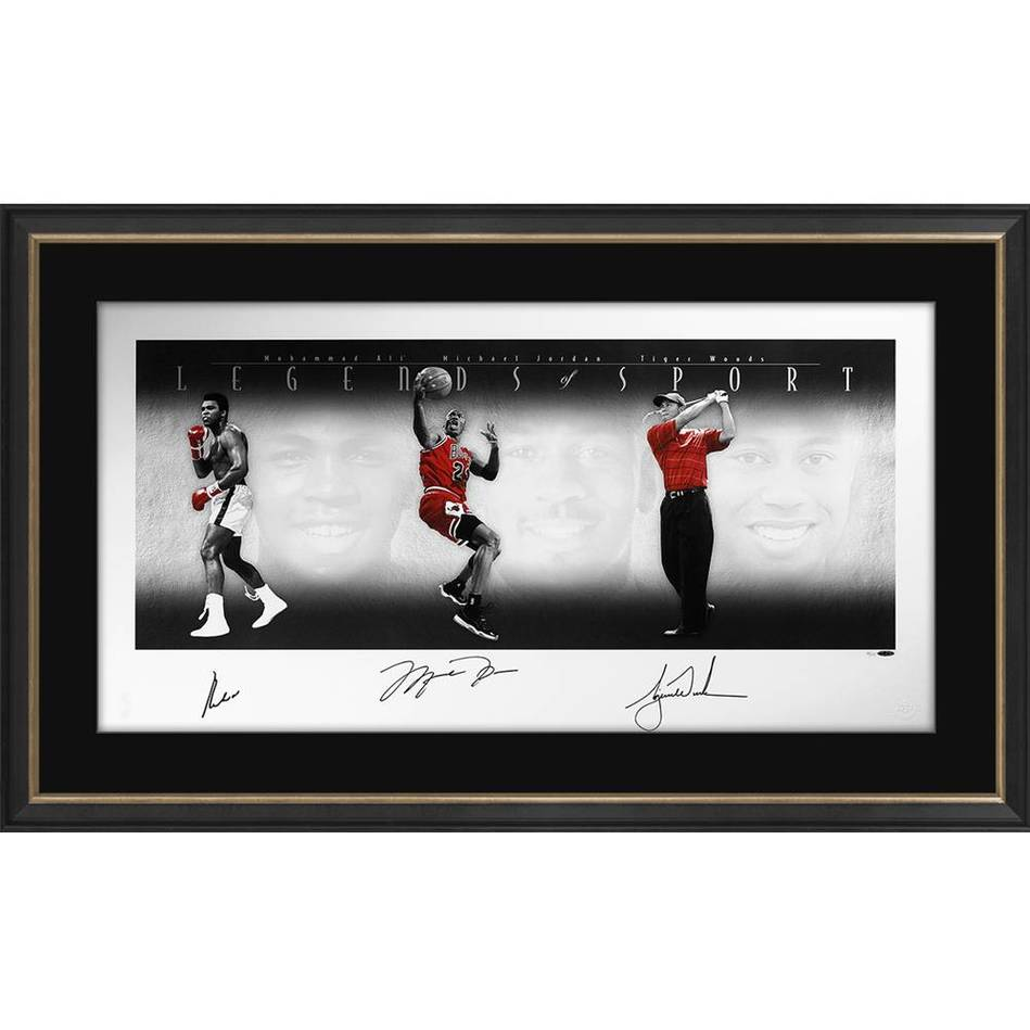 mainLEGENDS OF SPORT SIGNED - ALI, JORDAN AND WOODS0