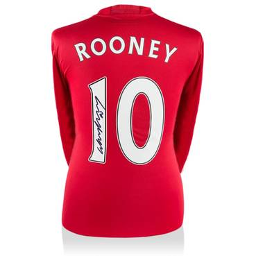 Wayne Rooney Signed Manchester United 2016-17 Home Shirt