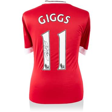 Ryan Giggs Signed Modern Manchester United Home Shirt