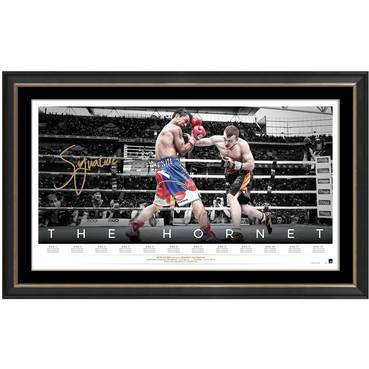 JEFF HORN SIGNED 'THE HORNET'