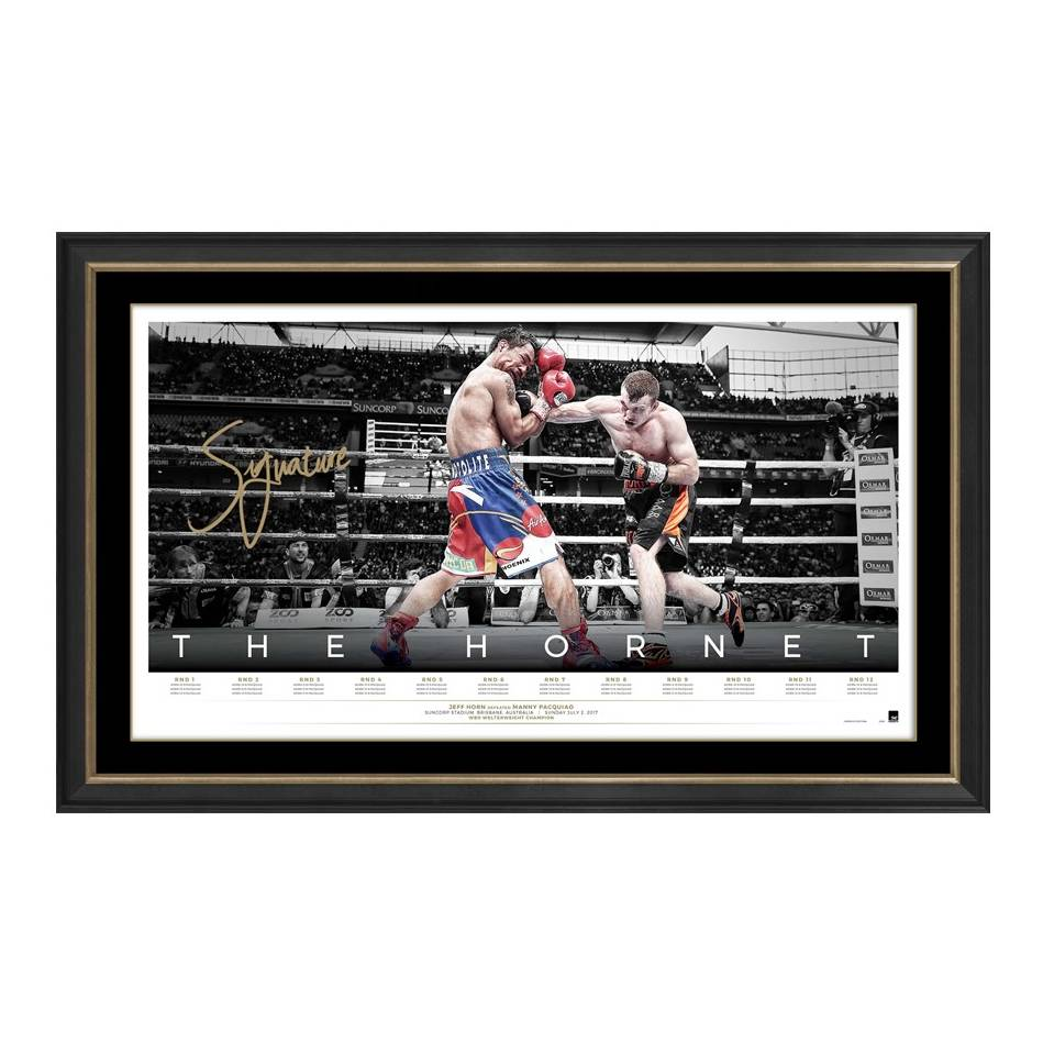 mainJEFF HORN SIGNED 'THE HORNET'0