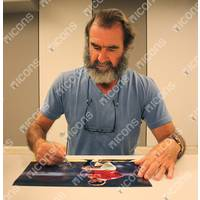 Eric Cantona Signed 'The King of Manchester'1