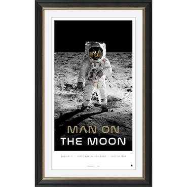 'Man on the Moon' Moon Landing Icon Series