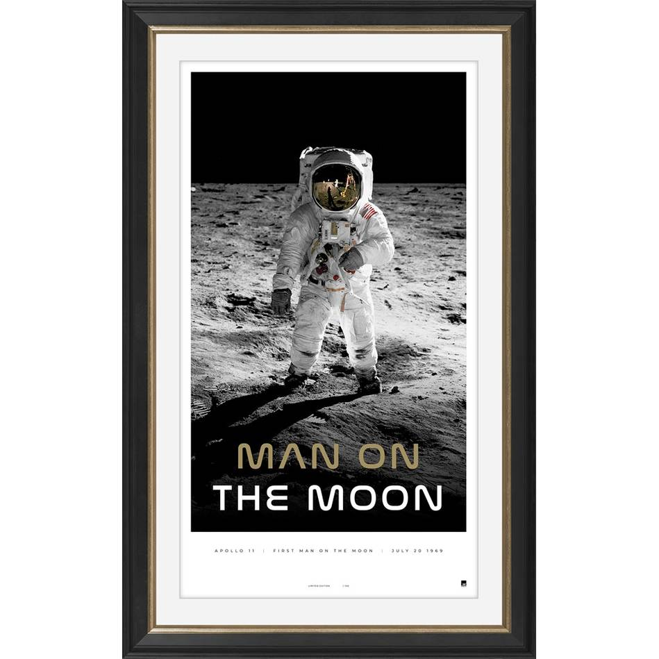 main'Man on the Moon' Moon Landing Icon Series0