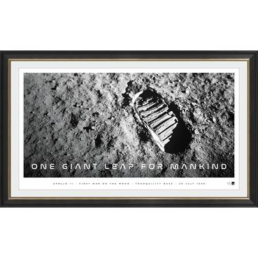 'One Giant Leap for Mankind' Moon Landing Icon Series