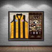 Hawthorn 1988-89 Premiers Team Signed 'Born to Play Finals'1