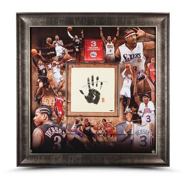 ALLEN IVERSON SIGNED CAREER TEGATA