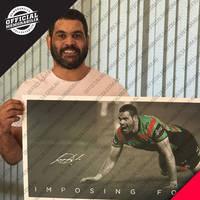 Greg Inglis Signed 'Imposing Force'1