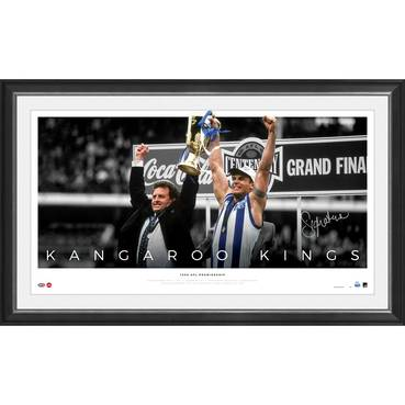 Wayne Carey Signed 'Kangaroo Kings'