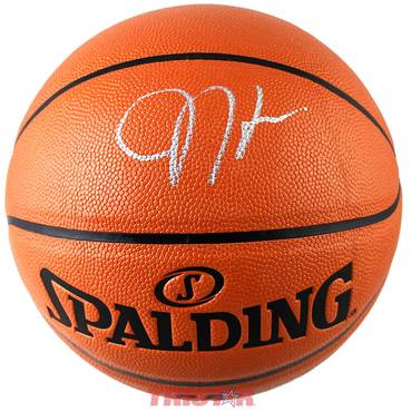 James Harden Signed Spalding Basketball