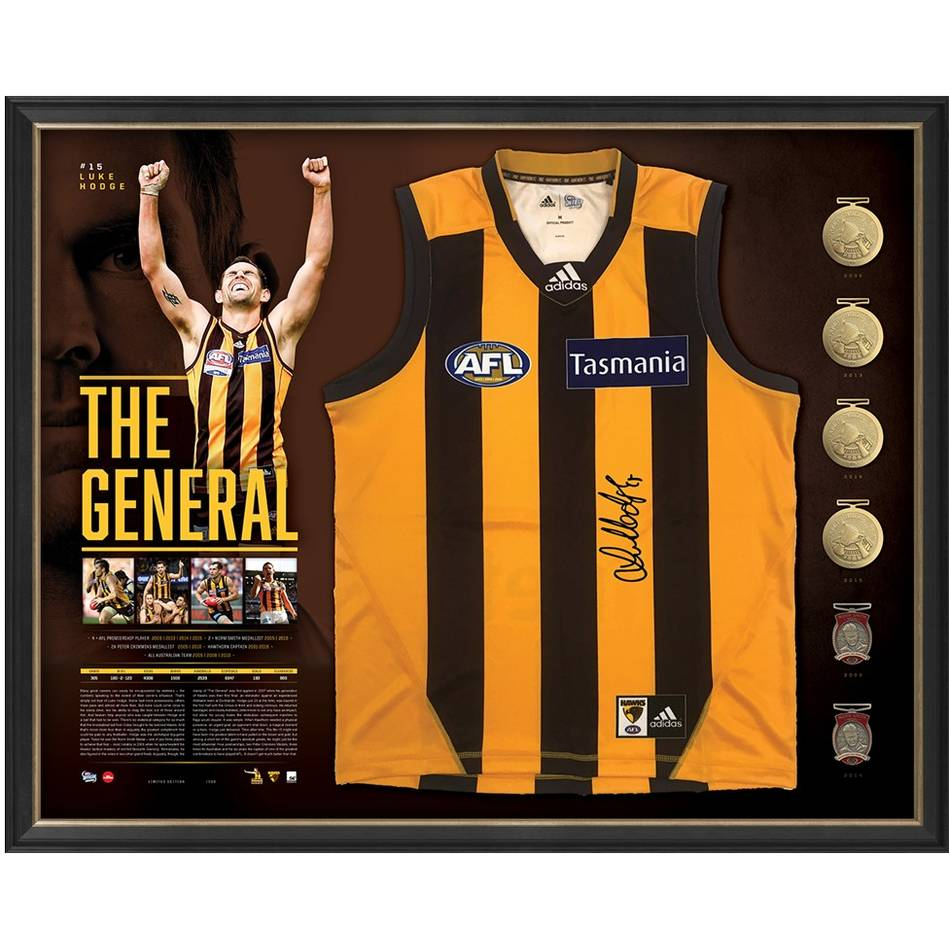 mainLUKE HODGE SIGNED 'THE GENERAL'0