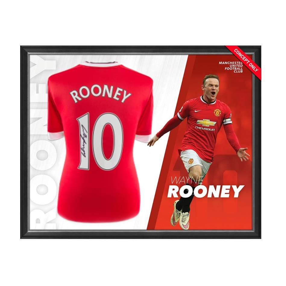 mainWayne Rooney Signed Manchester United Shirt0