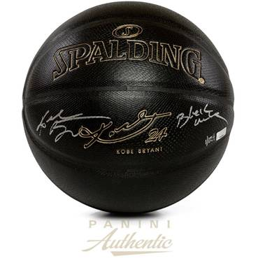 Kobe Bryant Signed & Inscribed Spalding Basketball