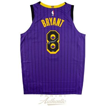 Kobe Bryant Signed 2019 Authentic Lakers Jersey