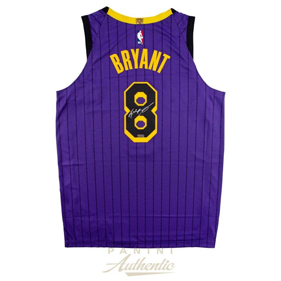 huge selection of 65f29 33f3e Kobe Bryant Signed Lakers Jersey | Official Memorabilia