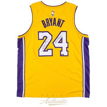 Kobe Bryant Signed & Inscribed Nike Jersey