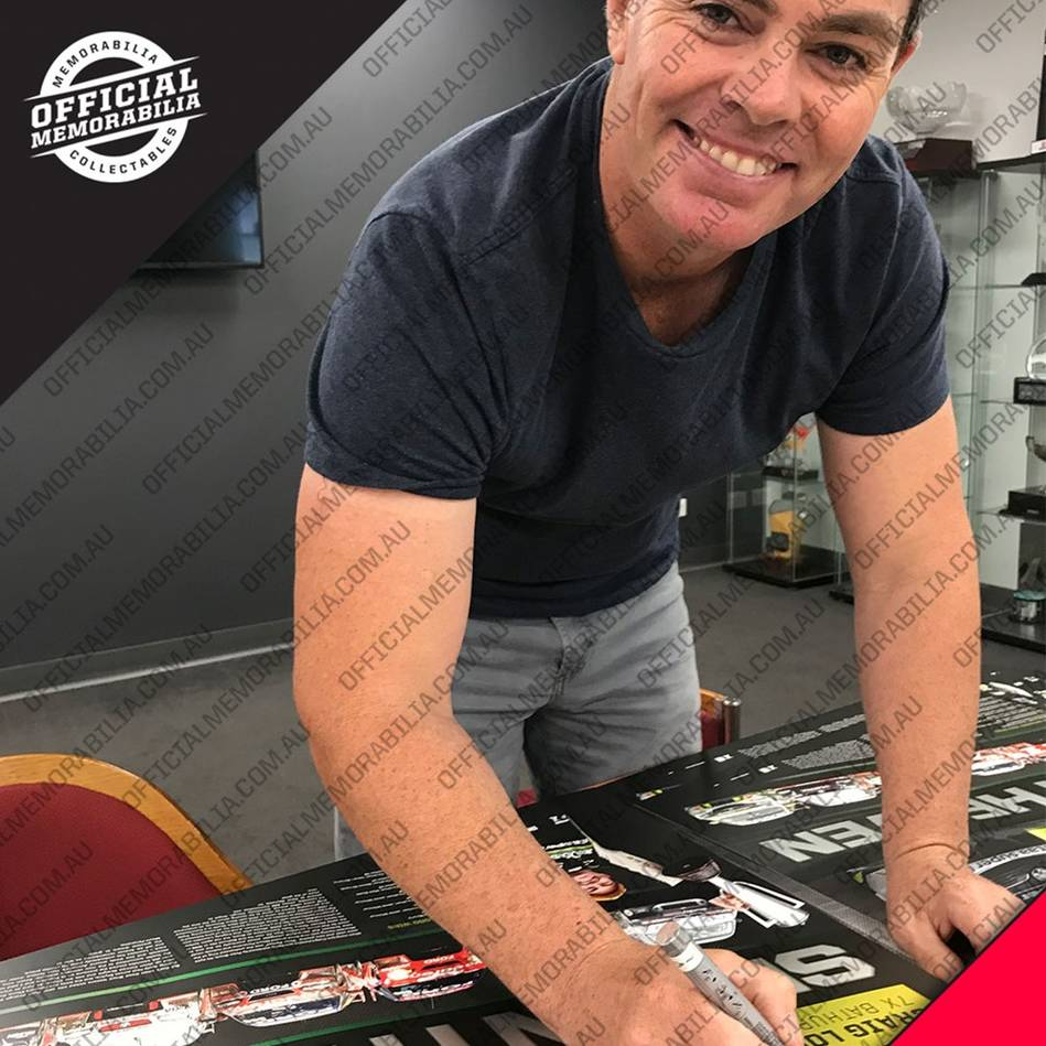 mainCraig Lowndes Signed 'Seventh Heaven'2
