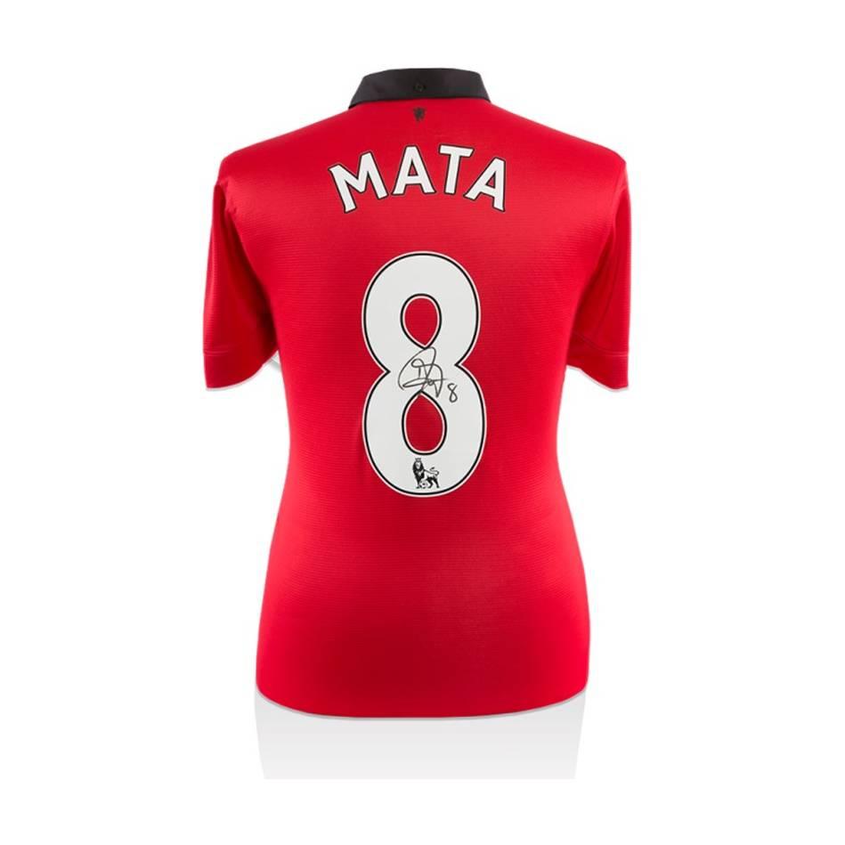 mainJuan Mata Signed Manchester United Shirt0