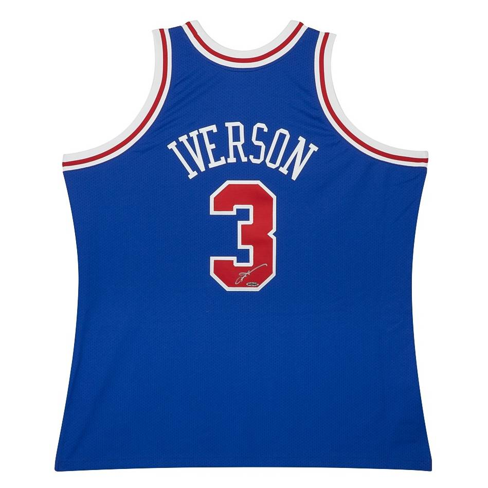 mainALLEN IVERSON SIGNED 76ERS JERSEY0