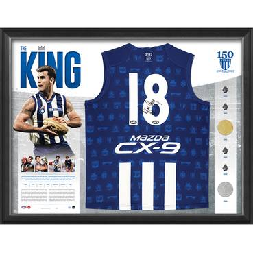 Wayne Carey Signed 'The King'