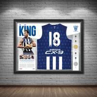 Wayne Carey Signed 'The King'1