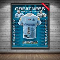 Paul Gallen Signed 'Greatness' Retirement Jersey Display1