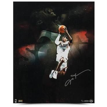 ALLEN IVERSON SIGNED 'POUND FOR POUND'