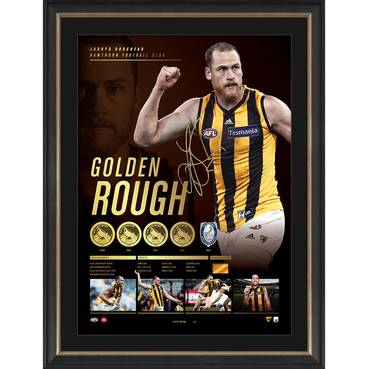 Jarryd Roughead Signed 'Golden Rough' Retirement Lithograph