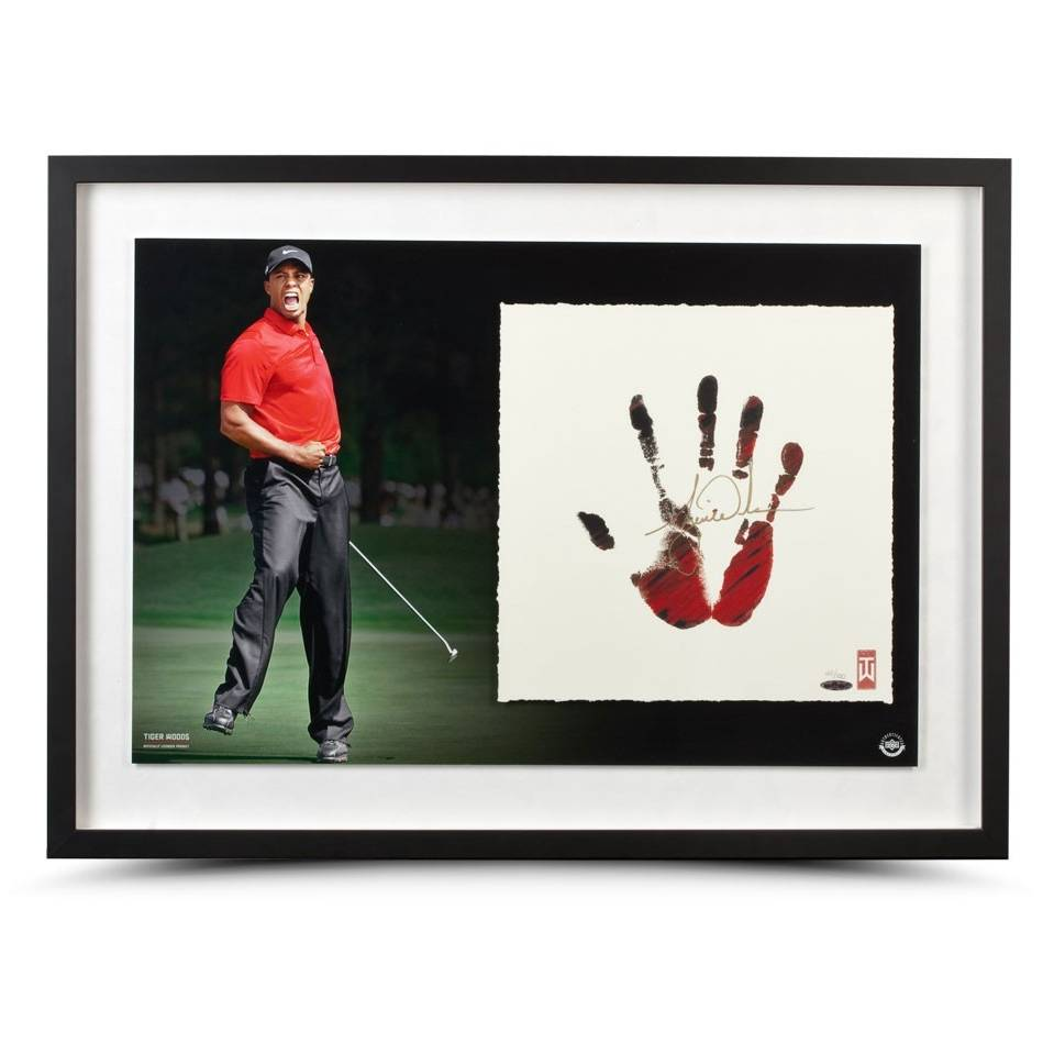 mainTIGER WOODS SIGNED 'RED AND BLACK'0