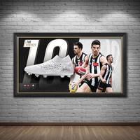 Scott Pendlebury Signed Match-Worn Boot Display1