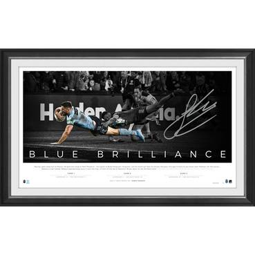James Tedesco Signed 'Blue Brilliance'