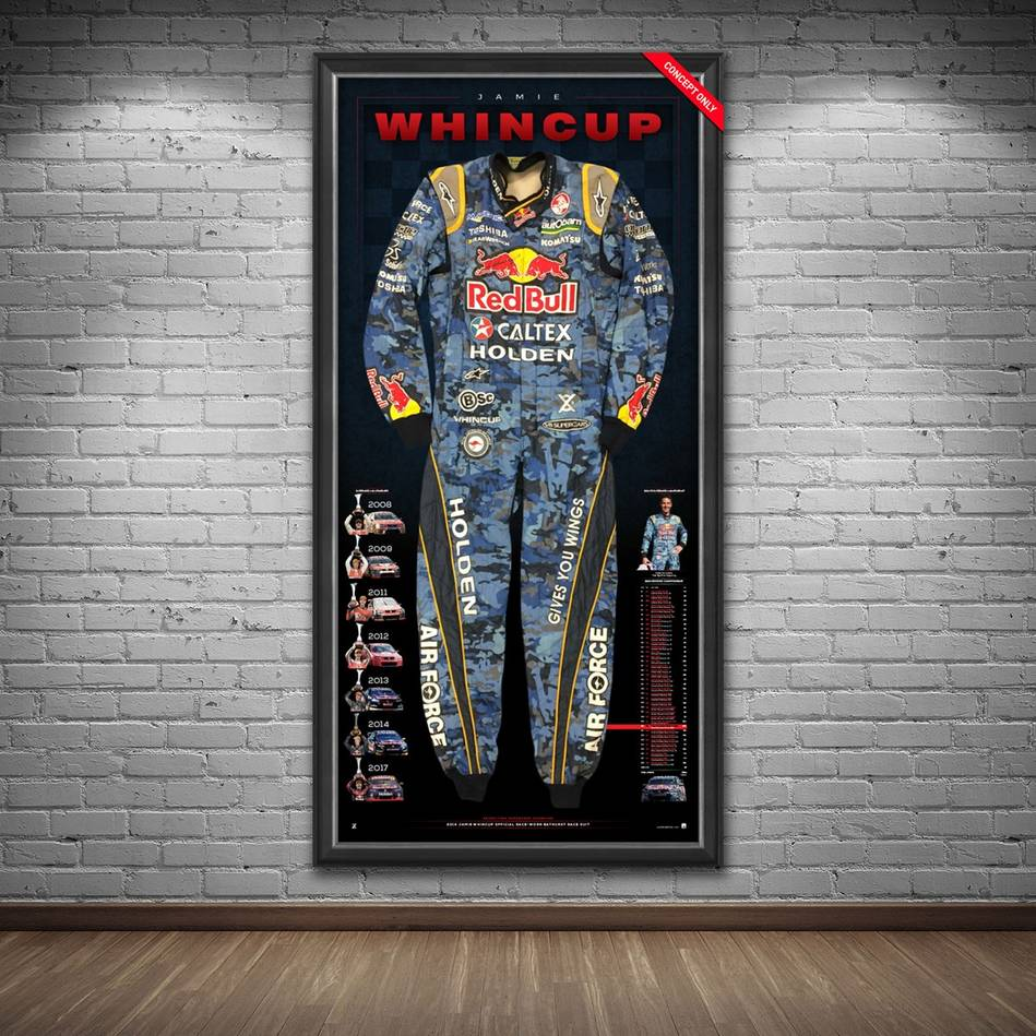 mainJamie Whincup Signed 2014 V8 Supercars Championship RBRA BATHURST Race-Worn Suit1