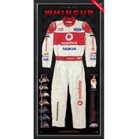 Jamie Whincup Signed 2008 V8 Supercars Championship Team Vodafone Race-Worn Suit0