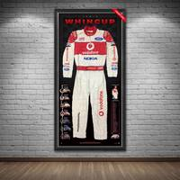 Jamie Whincup Signed 2008 V8 Supercars Championship Team Vodafone Race-Worn Suit1