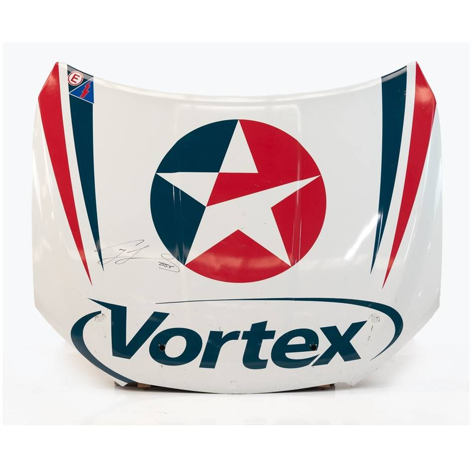 mainCraig Lowndes Signed Team Vortex Bonnet0