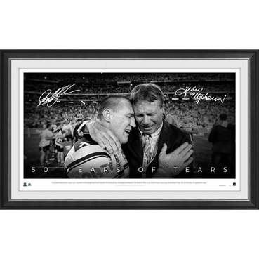 Paul Gallen & ET Dual Signed '50 Years of Tears'
