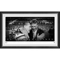 Paul Gallen & ET Dual Signed '50 Years of Tears'0