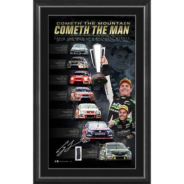 Craig Lowndes Signed 'Cometh the Mountain, Cometh the Man' - Deluxe