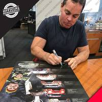 Craig Lowndes Signed 'Cometh the Mountain, Cometh the Man' - Deluxe1