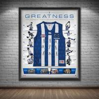 North Melbourne 150 Year Anniversary Signed 'Greatness'1