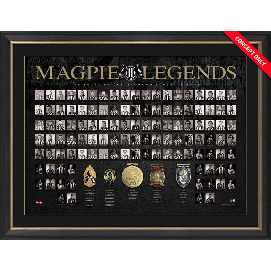 mainCOLLINGWOOD 125th ANNIVERSARY 'MAGPIE LEGENDS'0