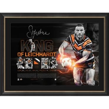 Robbie Farah Signed 'King of Leichhardt'