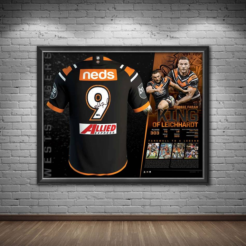 mainRobbie Farah Signed 'King of Leichhardt'1